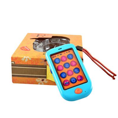 北美 B.Toys/比乐 儿童感统玩具手机早教机宝宝音乐录音仿真电话机