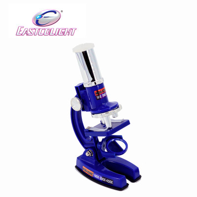香港 eastcolight/怡高 儿童显微镜小学生生物检测科学实验高倍显微镜