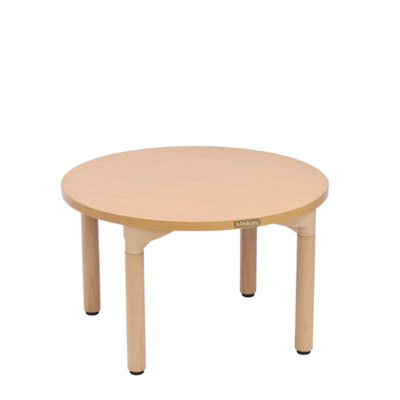 Kohburg/科宝 活动游戏 圆形桌(914*510) 绘画学习木桌 餐桌 儿童家具
