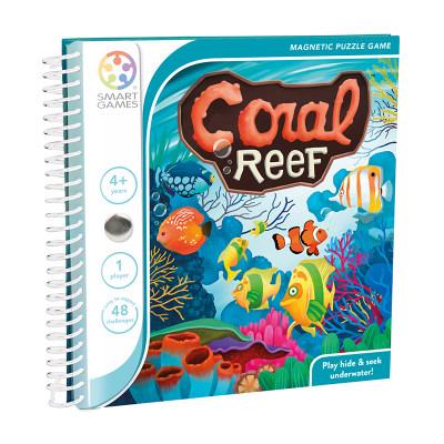 比利时 Smart Games珊瑚奇缘 儿童益智桌游玩具规划力逻辑思维(磁力旅行系列)