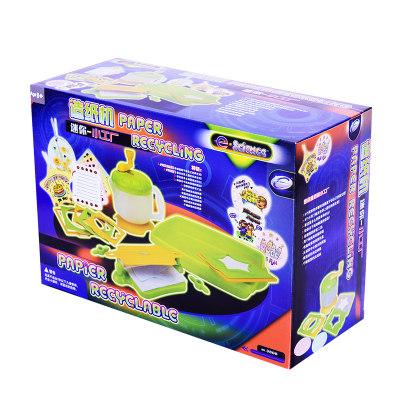 香港 eastcolight/怡高 早教科学实验造纸机幼儿园DIY手工制作探索玩具