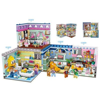 LOZ/俐智 积木网红转角场景小颗粒积木拼插玩具文创潮品店
