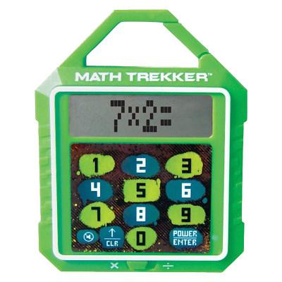 美国 Learning Resources 儿童口袋数学出题器游戏机-乘法和除法