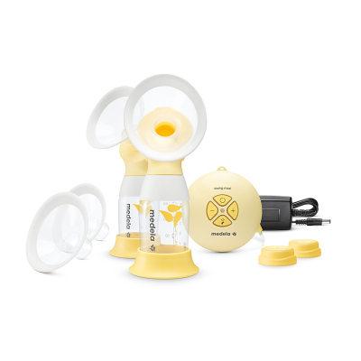 瑞士 medela/美德乐 吸奶器丝韵翼双边电动舒悦版原装进口省时50% 包邮