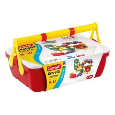 意大利 启迪Quercetti 3D手提装齿轮 组合机械拼装儿童益智玩具