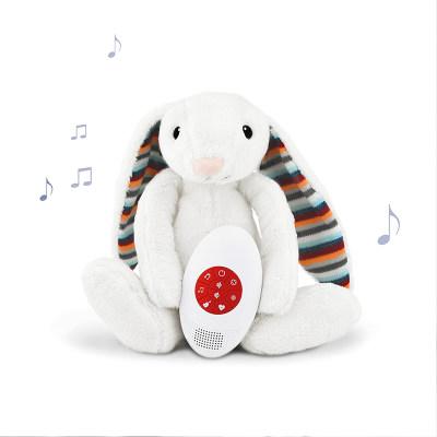 荷兰 ZAZU 动物毛绒音乐玩具新生宝宝婴儿音乐安抚模拟白噪音生日礼物