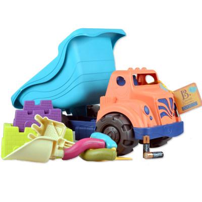 北美 B.Toys/比乐 海岸巡航车玩具儿童玩沙装载车