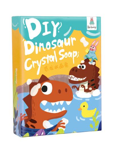 Batbunny/蝙蝠兔 恐龙水晶皂儿童手工diy制作材料包肥皂玩具