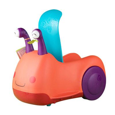 北美 B.Toys/比乐 蜗牛骑乘车 扭扭车儿童溜溜车四轮滑行婴幼儿学步车