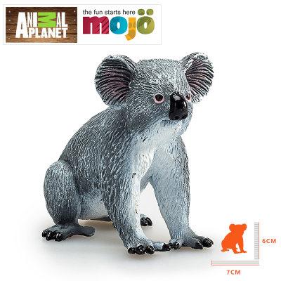 英国 Animal Planet/动物星球 考拉 狼等野生动物儿童玩具 静态仿真塑胶模型