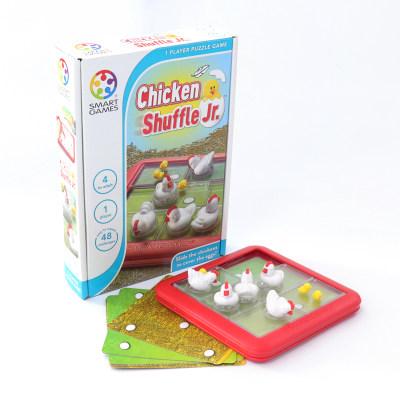 比利时 Smart Games 鸡妈妈护崽记 益智玩具桌游规划能力专注 (便携旅行系列)