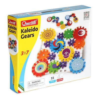 意大利 启迪Quercetti 3D手提装齿轮组合 机械拼装儿童益智玩具