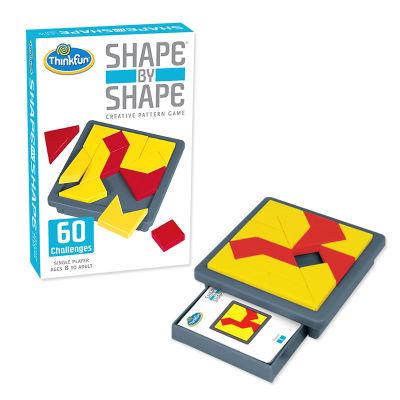 美国 Thinkfun/新想法 创意几何拼图形对形拼板益智力游戏儿童桌游早教玩具