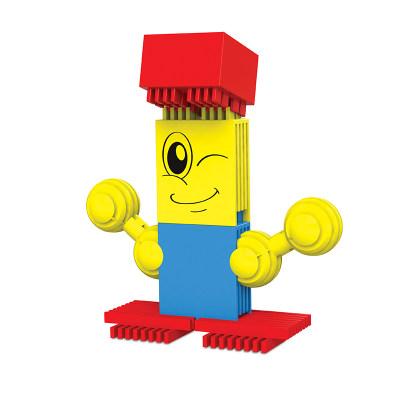 以色列 Interstar 星块系列 教育积木 儿童益智拼装积木 拼插玩具 50-60件