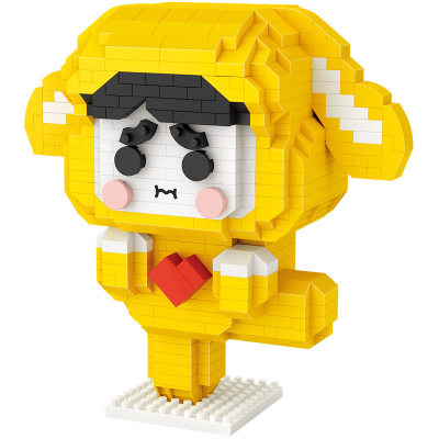 LOZ/俐智 积木Lucky狗狗玩具益智拼装颗粒玩具